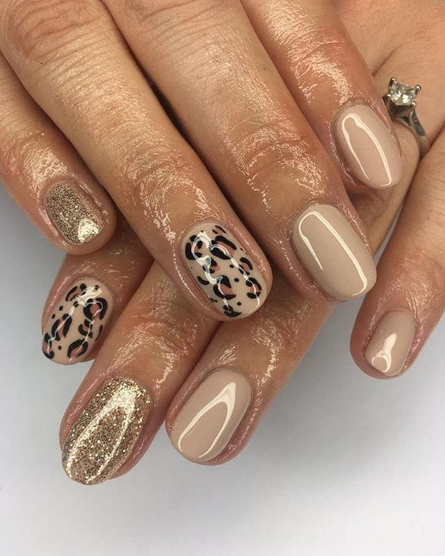 Nails By Elizabeth In 2020 Cheetah Print Nails Leopard Nails