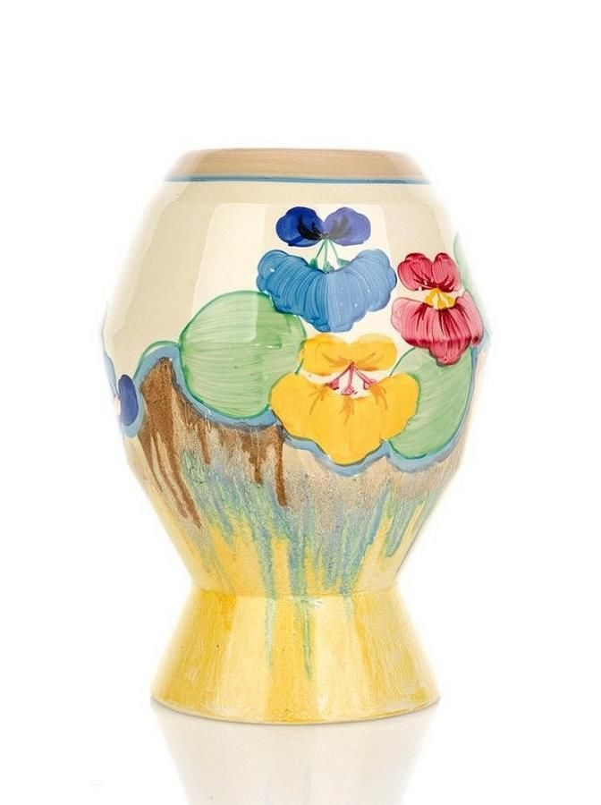 Vases and Ewers - Clarice Cliff - Carter's Price Guide to Antiques and Collectables
