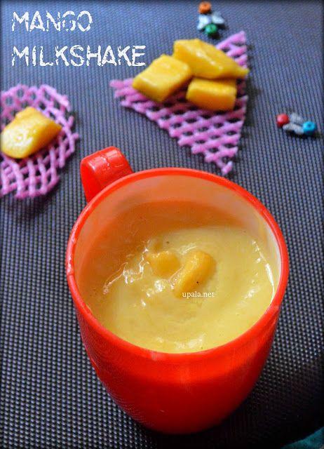 Mango milkshake http://www.upala.net/2015/05/mango-milkshake.html