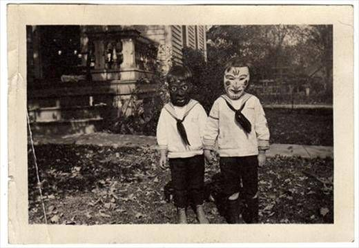 Appendage: Ossian Brown - Haunted Air: A collection of anonymous Hallowe'en photographs, America c. 1875 – 1955