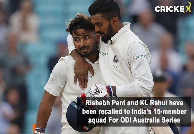 Dinesh Karthik left out; India's 15-member squad