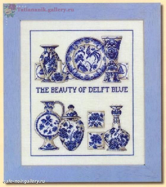 Gallery.ru / Photo # 1 - Blue dishes - Tatiananik (The Beauty of Delft Blue)