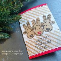 Weihnachtskarte 3 Stampin' Up! www.abgestempelt.net