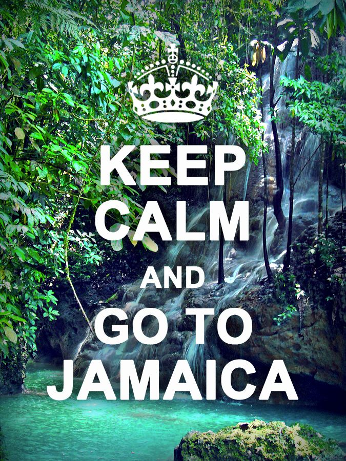 Keep Calm, start planning your trip to Jamaica today! #jamaica.