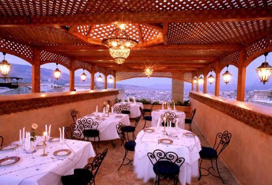 PALAIS SHEHERAZADE Hotel Fes Riad Fes :  Restaurant