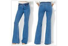 High Waist Bootcut Jeans Denim Pant Jean Slim Femme Plus Size Cotton Flare Jean M-5XL [9325859204]