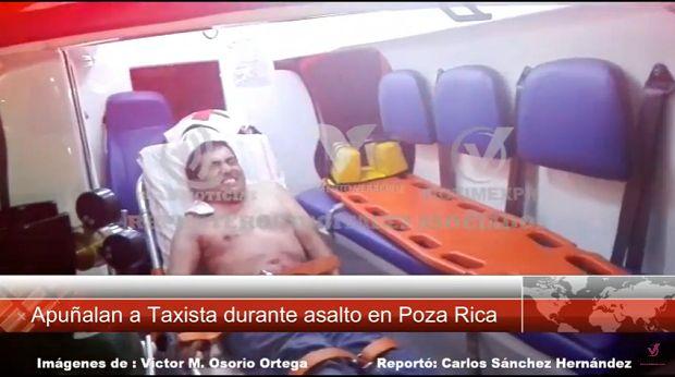 (Video) Apuñalan a taxista durante asalto en Poza Rica - http://www.esnoticiaveracruz.com/video-apunalan-a-taxista-durante-asalto-en-poza-rica/