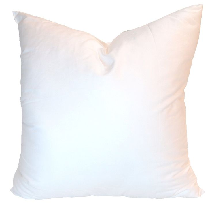 pillowflex synthetic down pillow inserts for shams aka faux alternative inch by 22 inch