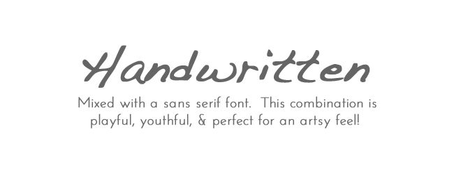 Five Sixteenths Blog: Boost Your Blog // 5 Simple Ways to Pair Fonts