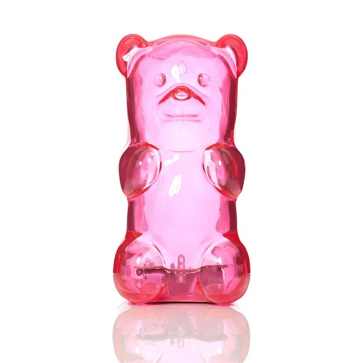 Gummygoods Gummy Bear Night Light - Pink – FCTRY