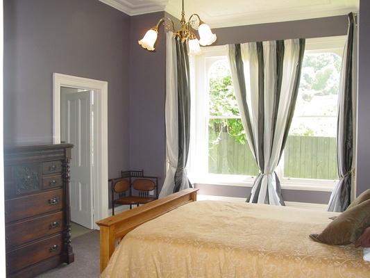 interesting white gray bedroom | Interesting warm grey Resene Salt Box. | Home, Bedroom ...