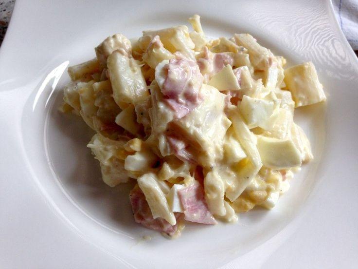 Spargelsalat mit Schinken und Ei, ein gutes Rezept aus der Kategorie Eier & Käse. Bewertungen: 8. Durchschnitt: Ø 3,8.