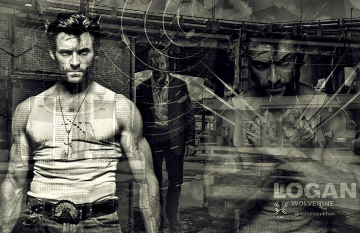 LOGAN - #Movies #Posters #Arts #HughJackman #Wolverine   Pop Culture Illustrations and Arts to Worship by @asifahsankhan