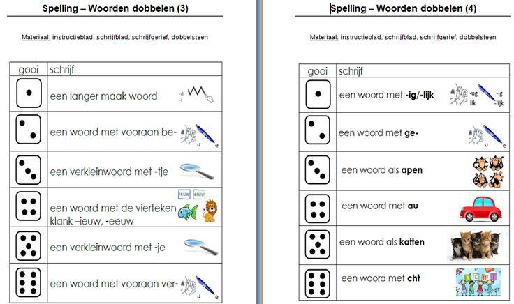 Spelling+-+woorden+dobbelen+1.png 874×518 pixels