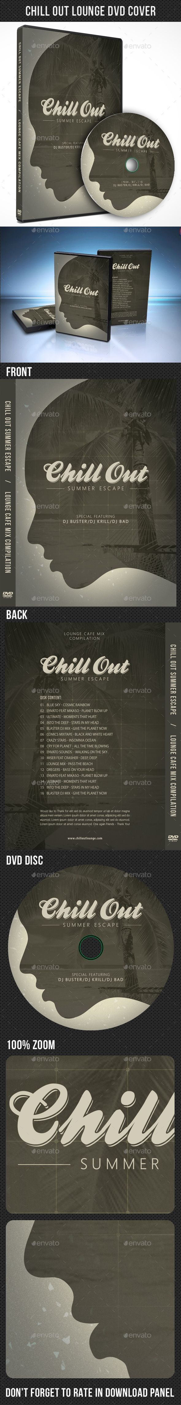 Chill Out Lounge CD Cover V02