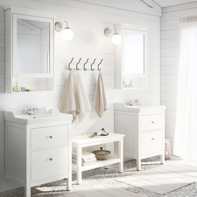 Les 25 meilleures id es concernant salle de bain ikea sur for Armoire miroir salle de bain ikea