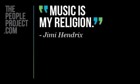 My Religion: Religion, Quotes Funny, Music People, Jimi Hendrix, Music Quotes, Music Stuff, Quotesfunni, Favorite Quotes, A Quotes