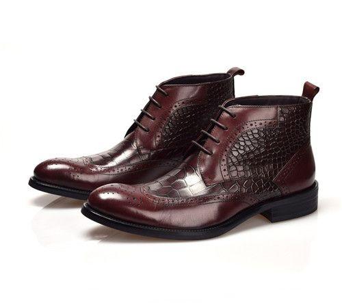 Boots - Vincent - $199.99   #ascot #tie #bowtie #menswear #cufflinks #mensfashion #shoes #men