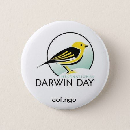 International Darwin Day Pinback Button - click/tap to personalize and buy