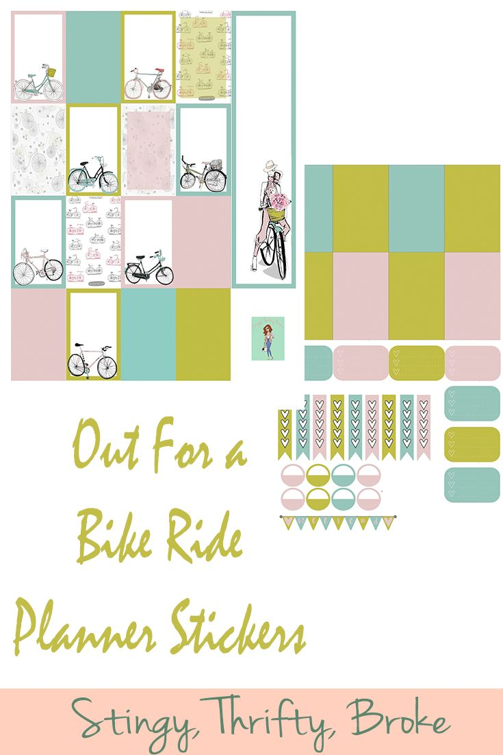 I have a confession. Even though I made these bike planner stickers, I don't actually like riding my bike. I mean, I will, but I don't love it. I know some people are obsessed and can ride miles on end. My cousin can do that. I would die. I tried bike riding the closest nursery … … Continue reading →