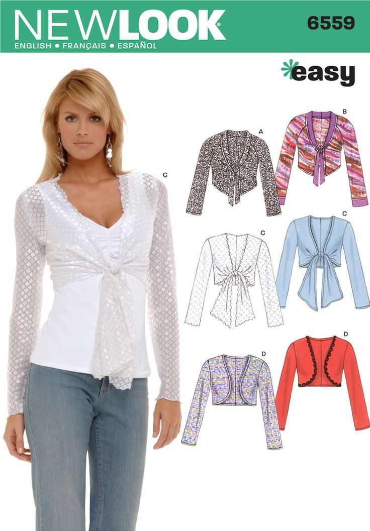womens seving pattern bolero pdf
