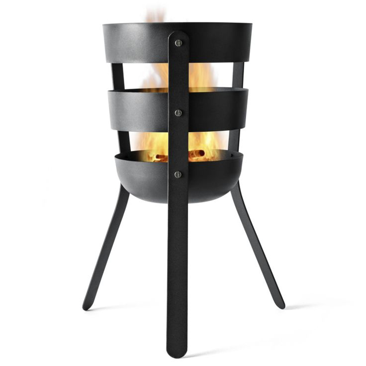 Menu Fire Basket by Norm Architects