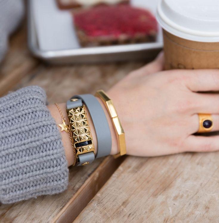 gold stud gray fitbit flex bracelet.jpg