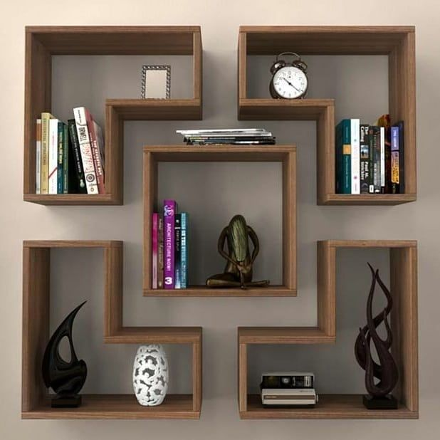 Insanely Chic Creative And Colorful Upcycling Furniture Projects Ideias De Decoracao Para Casa Decoracao Sala Nichos Decoracao De Casa #wall #shelves #design #for #living #room