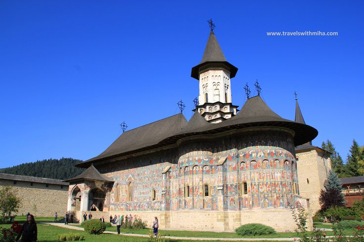 September 25, 2011. Beautiful morning at the picturesque monastery of Suceviţa.