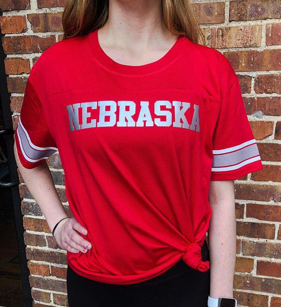 Nebraska Game Time Jersey Football Nebraska FROST Football