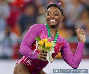 Simone Biles Floors Competition For World Gymnastics Gold   TeamUSA.org