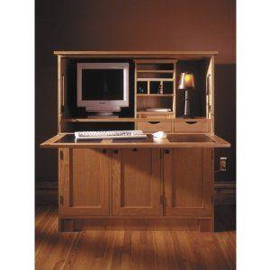 Home Office Hideaway Computer Desk Downloadable