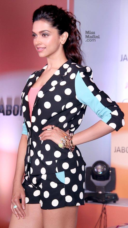 Deepika Padukone promotes 'Yeh Jawaani Hai Deewani'