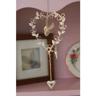Hanging Heart with Bird