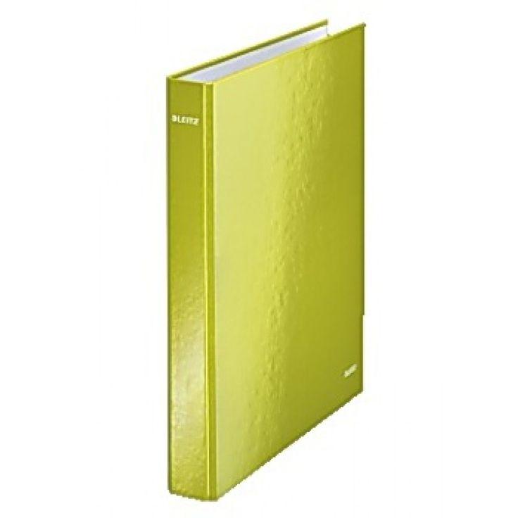 Ringpärmar LEITZ Wow A4+ 4RR 29 mm grön/Köp Kontorsmaterial & Ringpärmar billigt online på nätet hos kontorsproffset.se