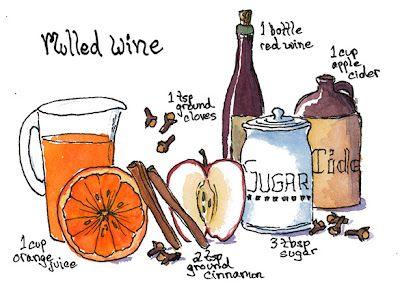 The Gluten Free Illustrator: Easy Gluten Free Mulled Wine