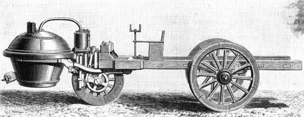 Invento: Automóvil de vapor Año: 1769 Inventor: Nicolas-Joseph Cugnot Ámbito de aplicación: Transporte. Realizado por Mikel Landín. 14/02/2014 a las 18:36. http://es.wikipedia.org/wiki/Historia_del_autom%C3%B3vil