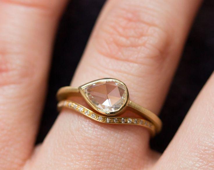 Best Teardrop Diamond Ring Ideas On Pinterest Teardrop