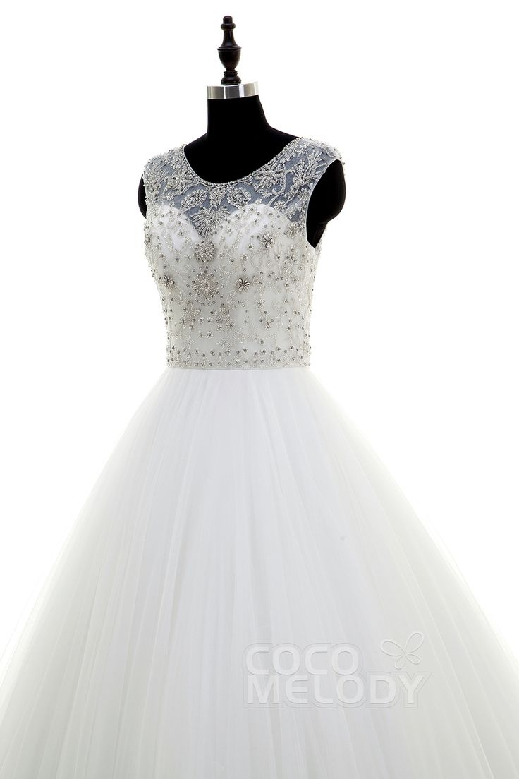 Get the best deals for Luxurious Wedding Dresses here - Product http://glamourgownsandheels.com.au/luxurious-illusion-tulle-wedding-dress-with-beading/  #bridalgowns #designergowns