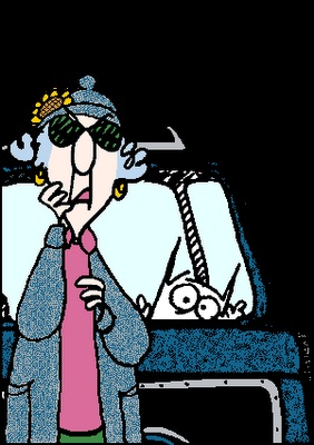 Maxine - I'm sure glad that my Husband knows how to fix thing!