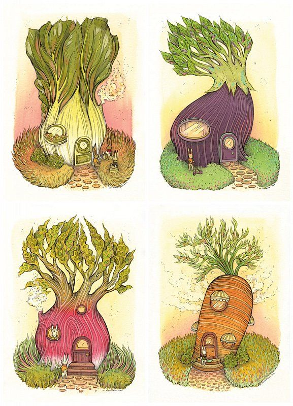 Vegi houses NIMASPROUT THE ART OF NICOLE GUSTAFSSON