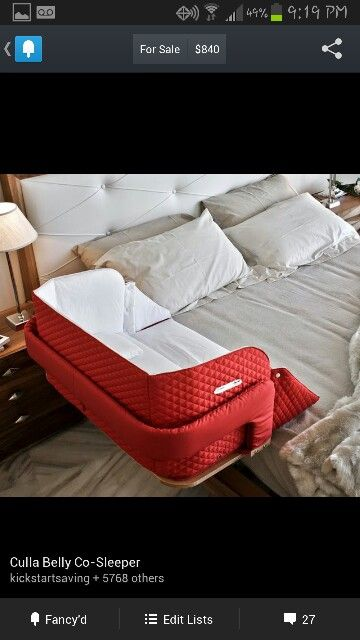 I like this, especially since I know it will be a pain keeping the dogs out of out bed when the baby is born