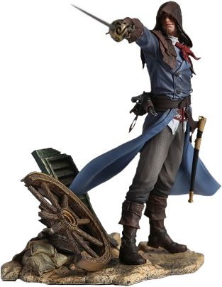 "Assassin's Creed - Assassin's Creed Unity - Arno: The Fearless Assassin 9"" Vinyl Statue by Ubisoft 