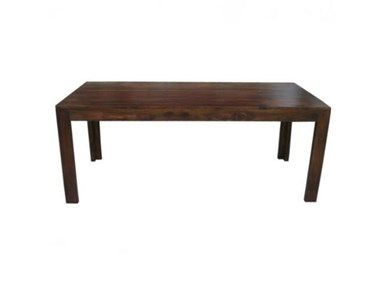 Global Imports Dining Table, G02082A at Exotic Home Paloma Dining Table With A Light Walnut Finish.