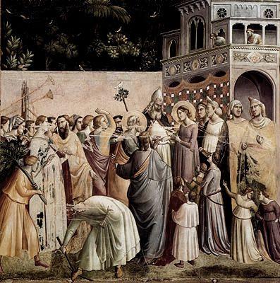 Mariage de la Vierge, Taddeo Gaddi, 1328