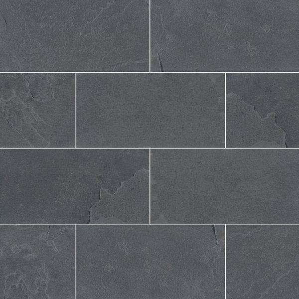 Montauk 3 X 6 Slate Concrete Look Wall Floor Tile Tile Floor Slate Flooring Flooring