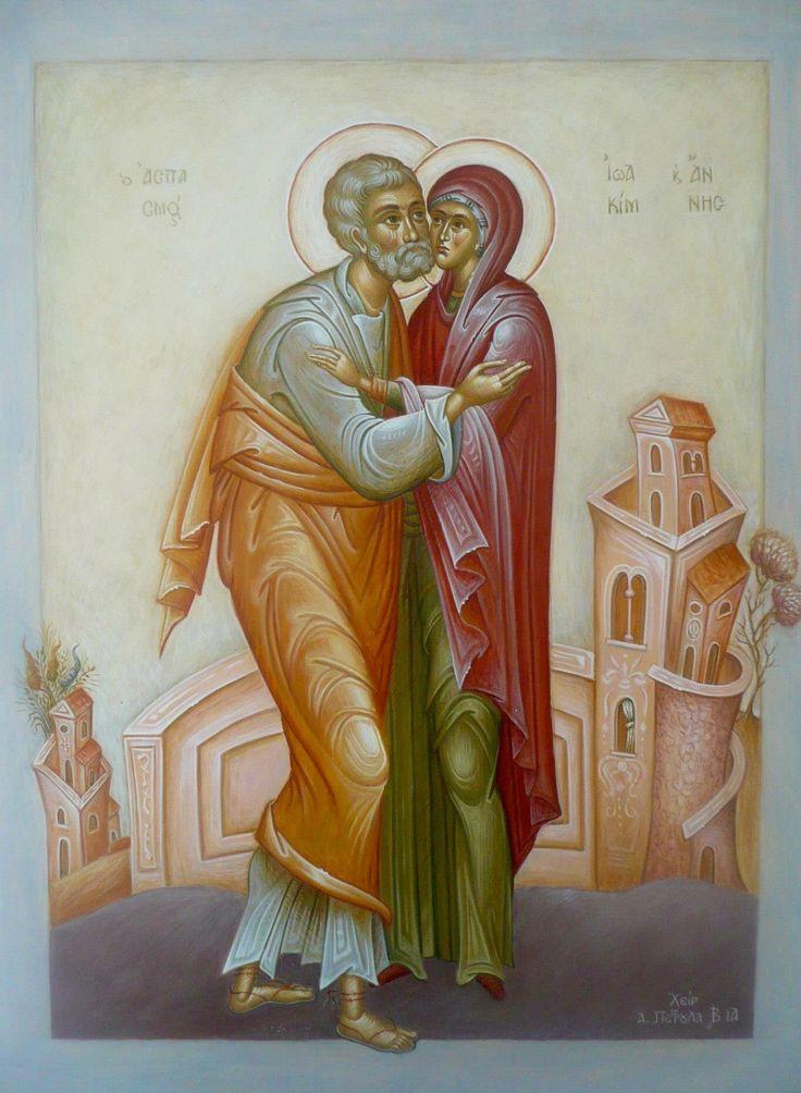 St. Joachim & St. Anna by Afroditi Petroula