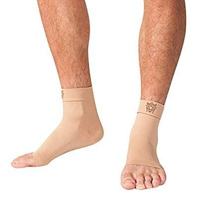 Bitly Plantar Fasciitis Socks (1 Pair) Premium Ankle Support foot Compression Sleeve (Small)