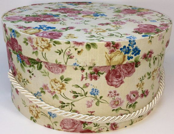 Decorative Round Boxes 200 Best Hat Boxes Images On Pinterest  Cartonnage Decorated