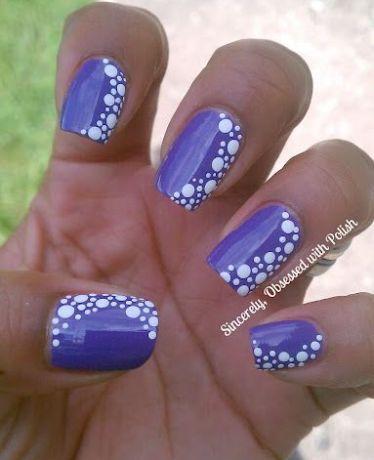 Purple Nail
